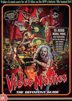 Rent Video Nasties: The Definitive Guide Online DVD Rental