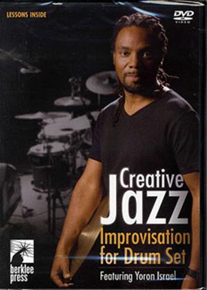 Rent Creative Jazz Improvisation for Drum Set Online DVD Rental