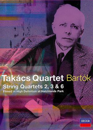 Rent Takacs Quartet Bartok: String Quartets 2, 3 and 6 Online DVD Rental