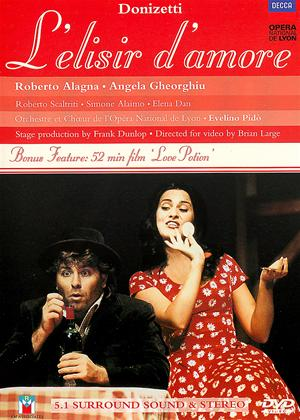Rent Donizetti: L'Elisir D'Amore: Opera National De Lyon Online DVD & Blu-ray Rental