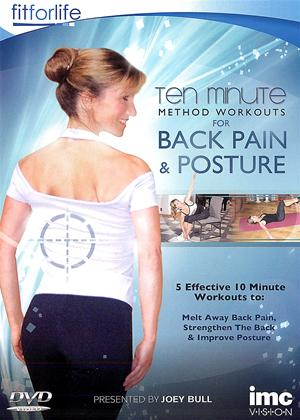 Rent Ten Minute Method Workouts: Back Pain and Posture Online DVD Rental