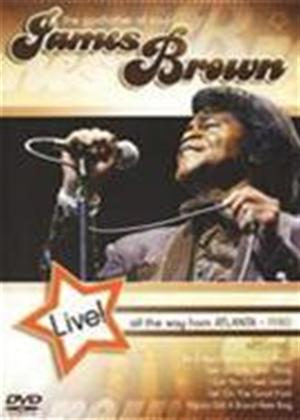 Rent James Brown: Live All the Way from Atlanta Online DVD Rental