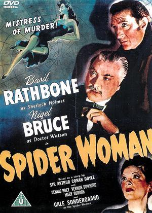 Rent Sherlock Holmes: Spider Woman Online DVD Rental