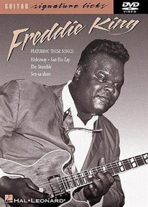 Rent Guitar Signature Licks: Freddie King Online DVD Rental