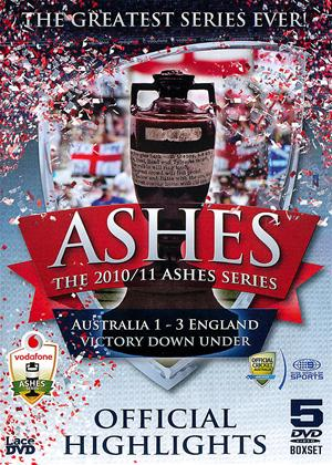 Rent The 2010/11 Ashes Series: Official Highlights Online DVD Rental