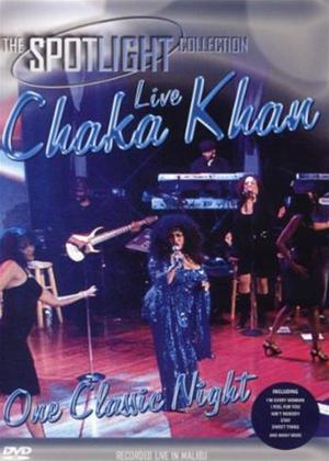 Rent Chaka Khan: One Classic Night Live Online DVD Rental