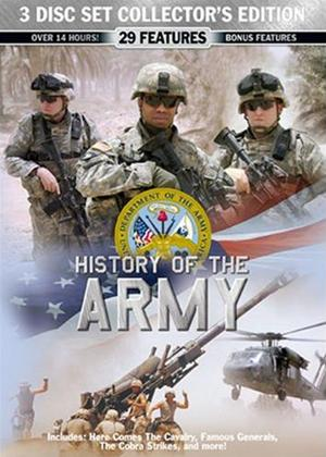 Rent History of the US Army Online DVD Rental