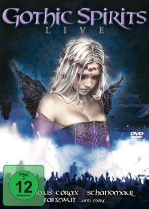 Rent Gothic Spirits Live Online DVD & Blu-ray Rental