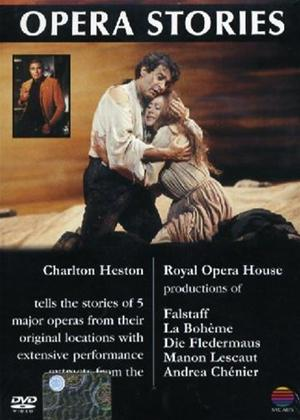 Rent Charlton Heston: Opera Stories: Vol.1 Online DVD Rental