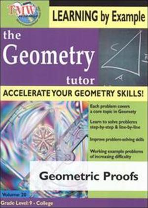 Rent The Geometry Tutor: Geometric Proofs Online DVD Rental