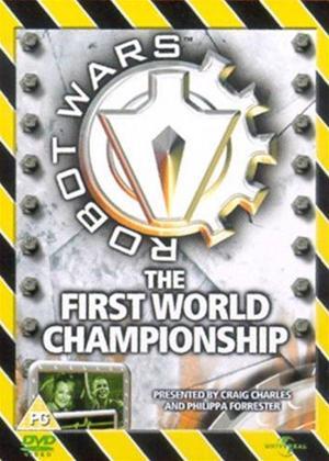 Rent Robot Wars: The First World Championship Online DVD Rental