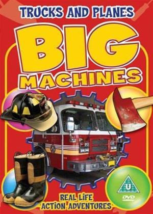 Rent Big Machines: Trucks and Planes Online DVD & Blu-ray Rental