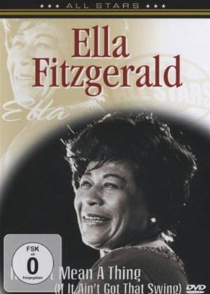 Rent Ella Fitzgerald: It Don't Mean a Thing Online DVD & Blu-ray Rental
