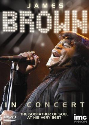 Rent James Brown: Live in Concert Online DVD Rental