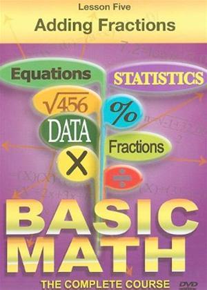 Rent Basic Maths: Adding Fractions Online DVD Rental