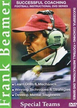 Rent Successful Coaching American Football: Frank Beamer: Special Online DVD Rental