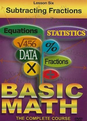 Rent Basic Maths: Subtracting Fractions Online DVD Rental