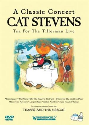 Rent Cat Stevens: Tea for the Tillerman Live Online DVD & Blu-ray Rental