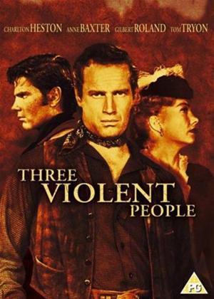 Rent Three Violent People Online DVD Rental