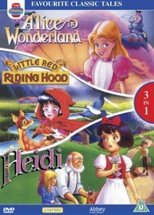 Rent Favourite Classic Tales Online DVD Rental