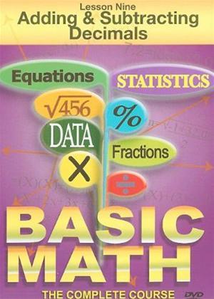 Rent Basic Maths: Adding and Subtracting Decimals Online DVD & Blu-ray Rental
