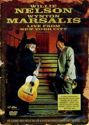 Rent Willie Nelson and Wynton Marsalis: Live Online DVD Rental