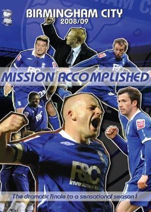Rent Birmingham City 2008/09: Mission Accomplished Online DVD & Blu-ray Rental