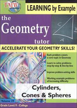 Rent The Geometry Tutor: Cylinders, Cones and Spheres Online DVD Rental