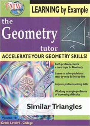 Rent The Geometry Tutor: Similar Triangles Online DVD Rental