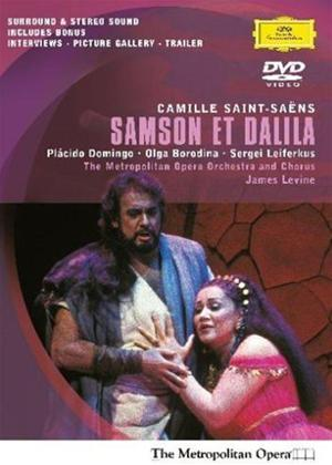 Rent Saint-Saens: Samson Et Dalila: The Metropolitan Opera Online DVD Rental
