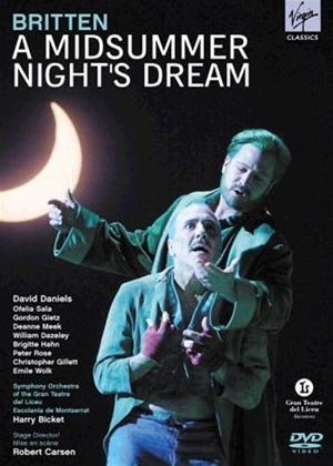 Rent A Midsummer Night's Dream: Teatro del Liceu Online DVD Rental