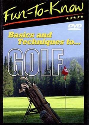 Rent Basics and Techniques to Golf Online DVD & Blu-ray Rental