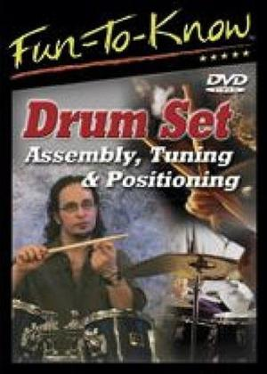 Rent Drum Set Assembly: Tuning and Positioning Online DVD Rental