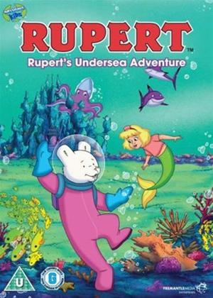 Rent Ruperts Undersea Adventure Online DVD Rental