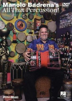 Rent Manolo Badrena: All That Percussion Online DVD Rental