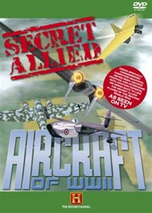 Rent Secret Allied Aircraft of WWII Online DVD Rental