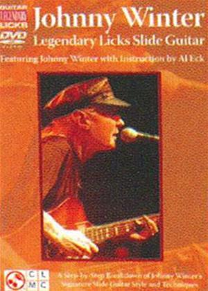 Rent Johnny Winter: Legendary Licks Slide Guitar Online DVD & Blu-ray Rental