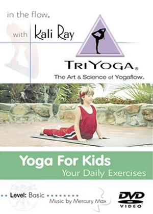 Rent Yoga for Kids: Your Daily Exercises Online DVD Rental