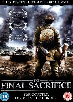 Rent The Final Sacrifice Online DVD Rental