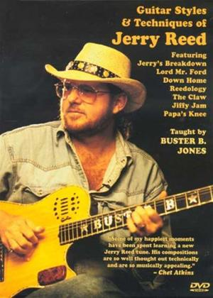 Rent Buster B. Jones: Jerry Reed Guitar Style Online DVD Rental