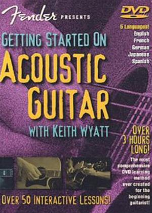 Rent Getting Started on Acoustic Guitar Online DVD Rental