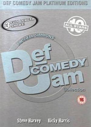 Rent Def Jam Comedy Platinum Edition 3 Online DVD Rental