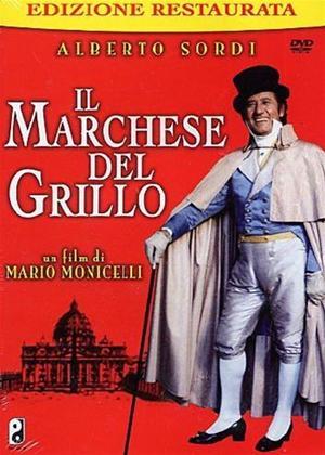 Rent The Marquis of Grillo (aka Il Marchese Del Grillo) Online DVD Rental