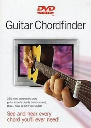 Rent Guitar Chordfinder: Acoustic Online DVD Rental