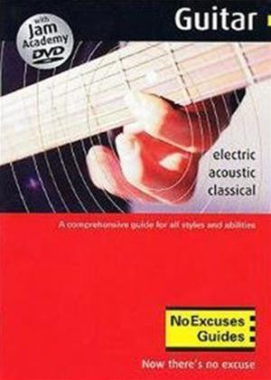 Rent No Excuses Guitar Guide Online DVD Rental