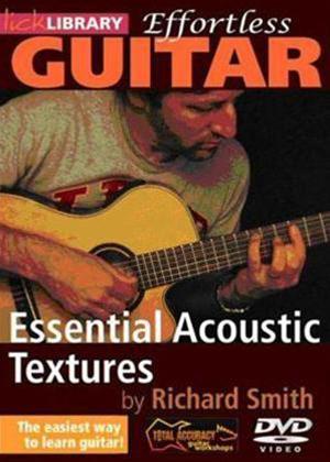 Rent Effortless Guitar: Essential Acoustic Textures Online DVD Rental