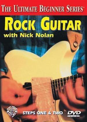 Rent Ultimate Beginner Series: Rock Guitar Steps 1 and 2 Online DVD Rental