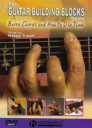 Rent Guitar Building Blocks: Barre Chords and How to Use Them Online DVD Rental
