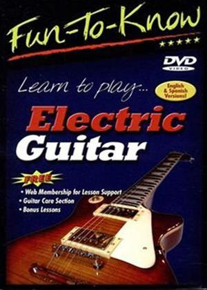 Rent Fun to Know: Learn to Play Electric Guitar Online DVD Rental