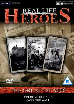 Rent Real Life Heroes: The Great Escapes Online DVD Rental